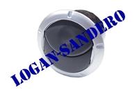 Дефлектор обдува салона серебро Логан / Сандеро / Ларгус / Альмера / Дастер