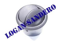 Дефлектор обдува салона черный Логан / Сандеро