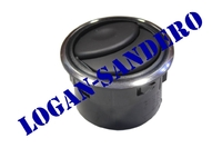 Дефлектор обдува салона с хром окантовкой Логан / Сандеро / Ларгус / Альмера / Дастер