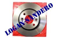 Диск передний тормозной Логан / Сандеро TRW (комплект 2 шт)