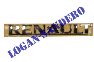 Эмблема крышки багажника Renault