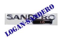 Эмблема крышки багажника Sandero 1,6