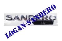 Эмблема крышки багажника Sandero 1,4