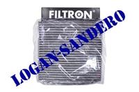 Фильтр салонный угольный Рено Логан II / Сандеро II 2014- / VESTA / KAPTUR FILTRON