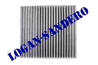 Фильтр салонный угольный Рено Логан II / Сандеро II 2014- / VESTA / KAPTUR AMD