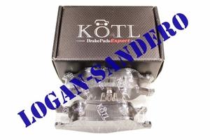 Колодки тормозные передние Рено Дастер 2.0L и 1,5 DCi KOTL