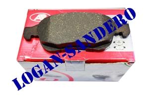 Колодки тормозные передние Рено Дастер 2.0L и 1,5 DCi LPR