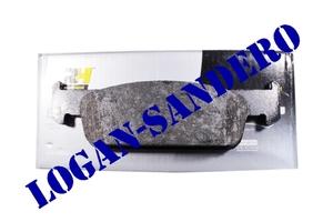 Колодки тормозные передние 1,6 8V Логан II / Сандеро II Road House