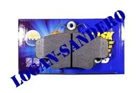Колодки тормозные передние Логан / Сандеро / Ларгус AMD