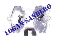 Колодки тормозные передние Логан / Сандеро / Ларгус ASAM