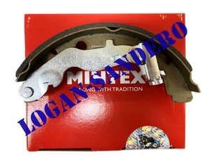 Колодки тормозные задние Рено Дастер 1,5Dci, 1,6-2,0L 4WD