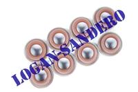 Колпачки маслосъемные 1,4-1,6 8V (8шт.) Elring Логан / Сандеро / Ларгус