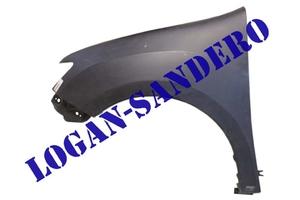 Крыло переднее левое Логан II / Сандеро II 2014- без отверстия под повторитель