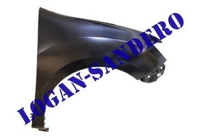 Крыло переднее правое Логан II / Сандеро II 2014- без отверстия под повторитель