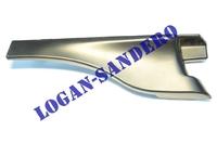 Накладка петли капота левая Логан / Сандеро / Ларгус