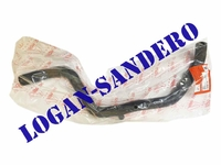 Патрубок печки входящий Логан / Сандеро / Ларгус с клапаном ASAM