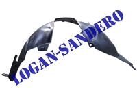 Подкрылок передний правый Рено Сандеро до 2014 г.в.