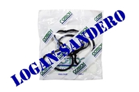 Прокладка впускного коллектора 1,4-1,6 8V Логан / Сандеро / Ларгус COTECH (комплект)