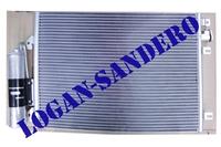 Радиатор кондиционера Рено Логан до 2008 года ASAM