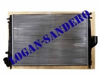Радиатор охлаждения для а/м c кондиционером Ларгус / Дастер / Альмера G15 VALEO