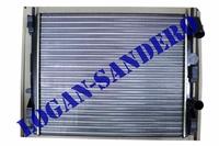 Радиатор охлаждения для а/м с кондиционером Рено Логан до 2008 г.в. LUZAR
