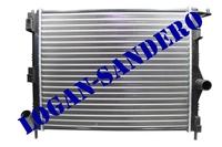 Радиатор охлаждения для а/м без кондиционером Логан с 2008г.в. / Сандеро / Ларгус AMD