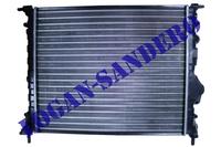 Радиатор охлаждения для а/м без кондиционера Рено Логан до 2008 г.в. ASAM
