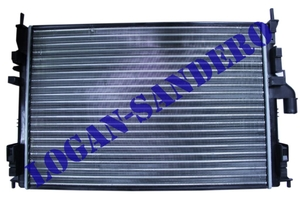 Радиатор охлаждения для а/м c кондиционером Логан с 2008г.в. / Сандеро / Ларгус  VALEO