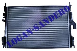Радиатор охлаждения для а/м c кондиционером Логан с 2008г.в. / Сандеро / Ларгус  ASAM