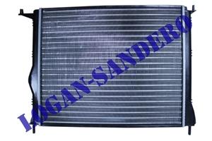 Радиатор охлаждения для а/м без кондиционера Логан с 2008г.в. / Сандеро / Ларгус TERMAL