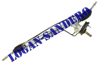 Рейка рулевая с ГУР (в сборе с наконечниками) Логан / Сандеро / Ларгус RENAULT