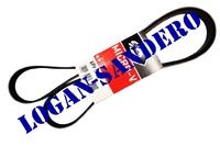 Ремень генератора для а/м с ГУР и с кондиционером 6PK1820 Логан / Сандеро / Ларгус / Дастер / Альмера GATES