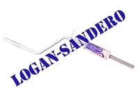 Резонатор (средняя часть глушителя) Логан / Сандеро