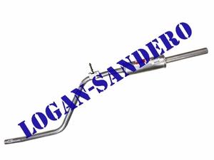 Резонатор (средняя часть глушителя) Логан / Сандеро ASAM