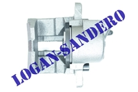 Суппорт тормозной правый для невентилируемого тормозного диска Логан / Сандеро ASAM