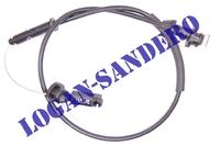 Трос газа 1.4-1.6 8V Логан / Сандеро / Ларгус MALO
