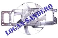 Вентилятор охлаждения в сборе Рено Логан до 2008 г.в. FRANCECAR