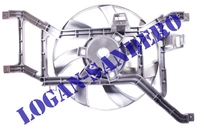 Вентилятор охлаждения в сборе с 2008 г.в. Логан / Ларгус / Сандеро