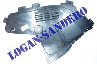 Защита переднего бампера нижняя правая Логан до 2010 г.в.