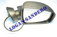 Зеркало правое электрическое большое Логан / Сандеро / Ларгус / Дастер